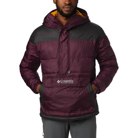 Columbia Columbia Lodge Anorak Herrer, black cherry/shark